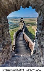 Castle of Boldogko in Hungary in Europe