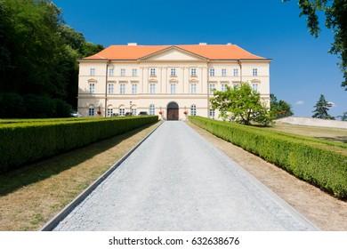 Castle Boskovice in Czech republic