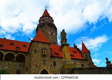 Castle Bouzov in Czech Republic
