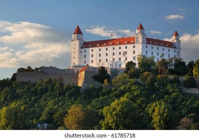 Castle in bratislava - detail