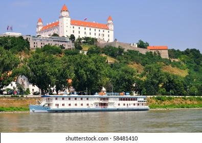 Castle in Bratislava - Slovakia