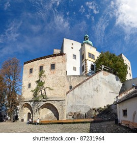 Castle Buchlov. The first building of the castle dates back to the 13th century. Czech Republic