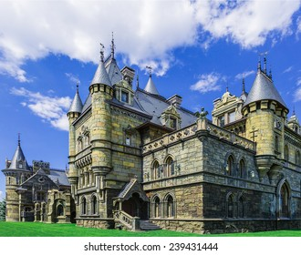 Castle built in a historical the style