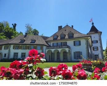 Castle in the canton of Zurich Switzerland - Shutterstock ID 1750394870
