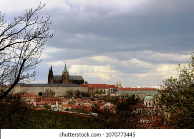 castle cathedral in prague