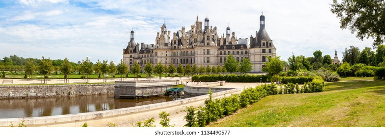 Castle of Chambord in France