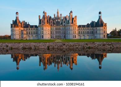 Castle of Chambord, Castle of the Loire, France