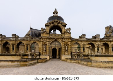Castle of Chantilly, one of the famous chateau in France