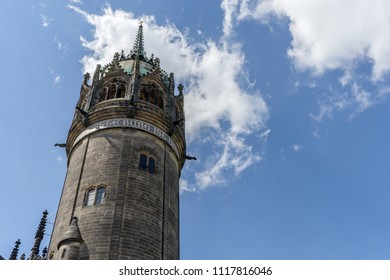 castle church in the Luther city Wittenberg