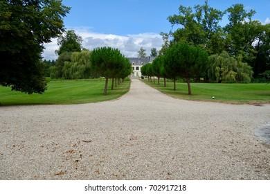 Castle Citran in Haut Medoc (vineyards)