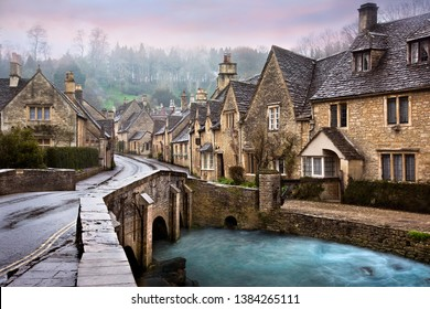 Castle Come and Bybrook River, Cotswolds, England