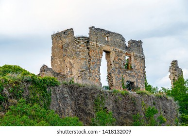 The castle of Coustaussa is located in the town of Coustaussa, department of Aude, Languedoc-Roussillon region, France.