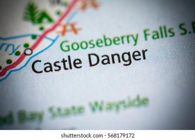 Castle Danger. Minnesota. USA