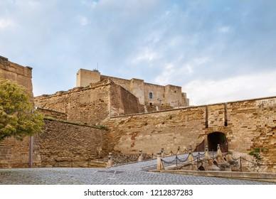 Castle de La Suda was the citadel of Lleida city, Spain