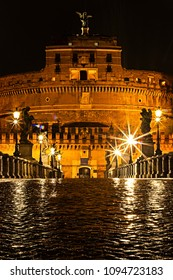 Castle de Sant Angelo in Rome Italy