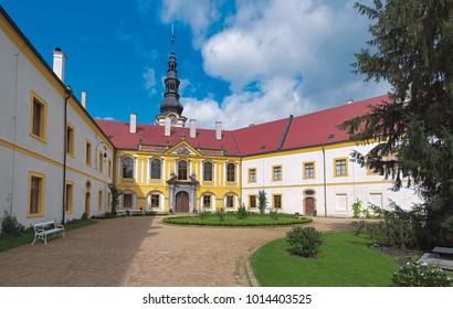 Castle in Decin, Ceske Svycarsko, Czech Republic