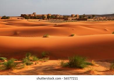 Castle in the Desert