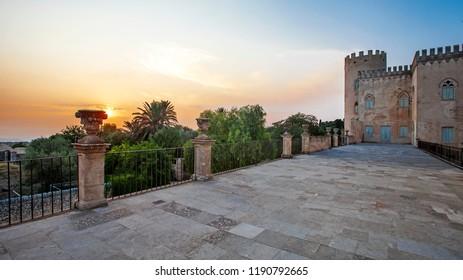 Castle of Donnafugata, Sicily,  Italy