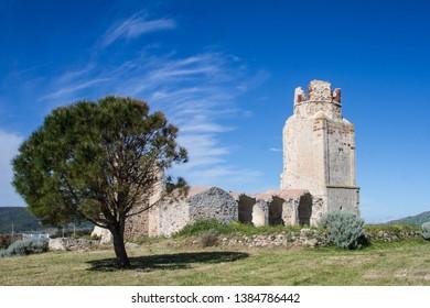 castle of the doria, chiaramonti, Sardinian castel, Sassari
