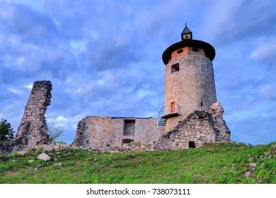 The castle Dreznik is an old castle ruin in Dreznik Grad, Croatia.