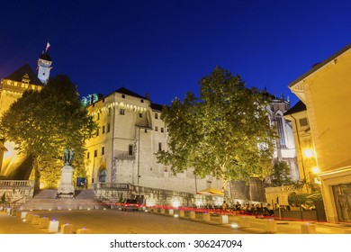 Castle of the Dukes of Savoie in Chambery, France