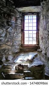 Castle Dungeon Window Set in Stone