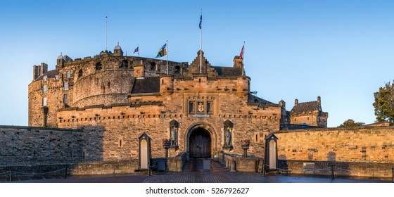 Castle of Edinburgh, front gate
