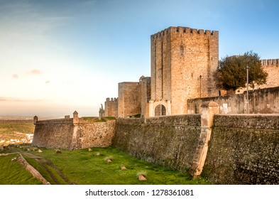 Castle of Elvas, a medieval military fortification in Portugal