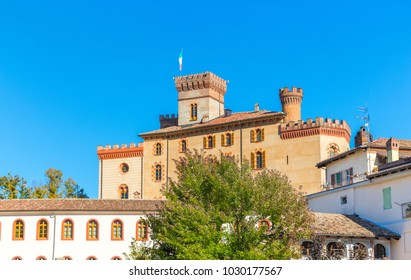 The Castle Falletti of Barolo town, Piedmont, Italy