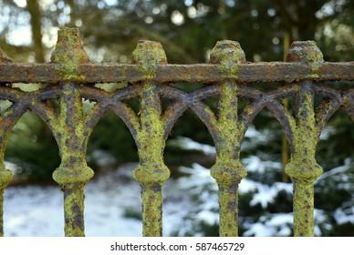 castle fence detail