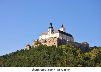 Castle Forchtenstein in Austria's Burgenland