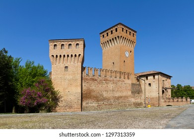 Castle of Formigine is magnificent example of medieval fortification made into a Renaissance manor