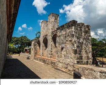 Castle of Fort San Pedro in Cebu city, Philippines