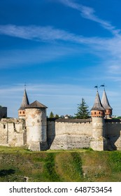 The castle and fortress of Kamyanets-Podilskiy, Ukraine