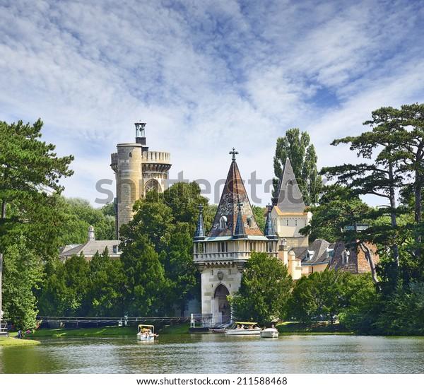 Castle Franzensburg - Laxenburg Water Castle, Lower Austria near Vienna
