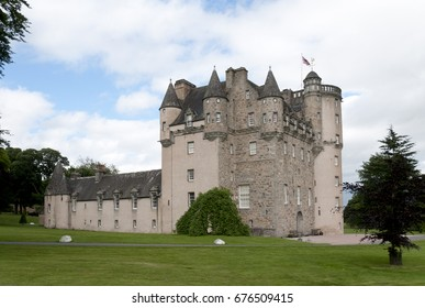 Castle of Fraser in Scotland