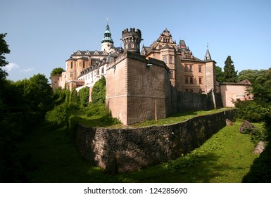 Castle Frydlant in Czech Republic