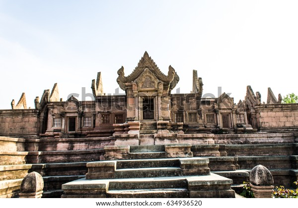 Castle gates old thailand