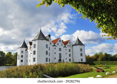 The Castle of Glucksburg in Flensburg Germany where the forefathers of the Danish Royal Family lived.