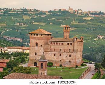 Castle of Grinzane Cavour, Piedmont, Italy