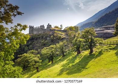 Castle of Grosio - XIV century - Valtellina (IT)