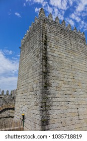 Castle of Guimaraes - medieval castle in the municipality Guimaraes, in the northern region of Portugal. It was built under the orders of Mumadona Dias in X century.