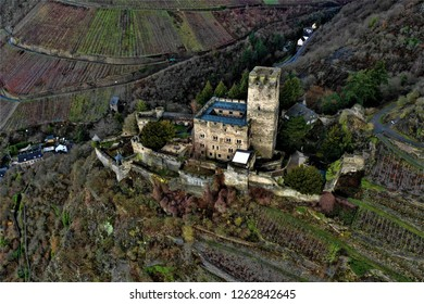Castle Gutenfels from above