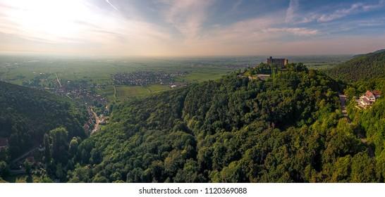 castle hambach panorama
