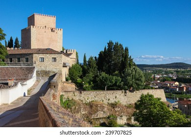 Castle of Henry II of Castile (14th Century) in Ciudad Rodrigo, a small cathedral city in the province of Salamanca, Spain.