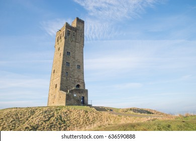 Castle Hill in Huddersfield, West Yorkshire, England