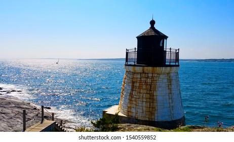 Castle Hill Lighthouse in Rhode Island