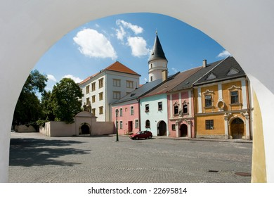 castle and historical square Prerov