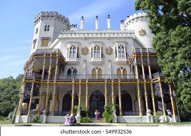 Castle Hluboka nad Vltavou - one of the most beautiful castles of Czech Republic