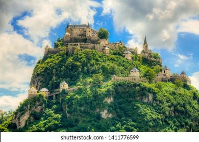 Castle Hochosterwitz in Carinthia, Austria
